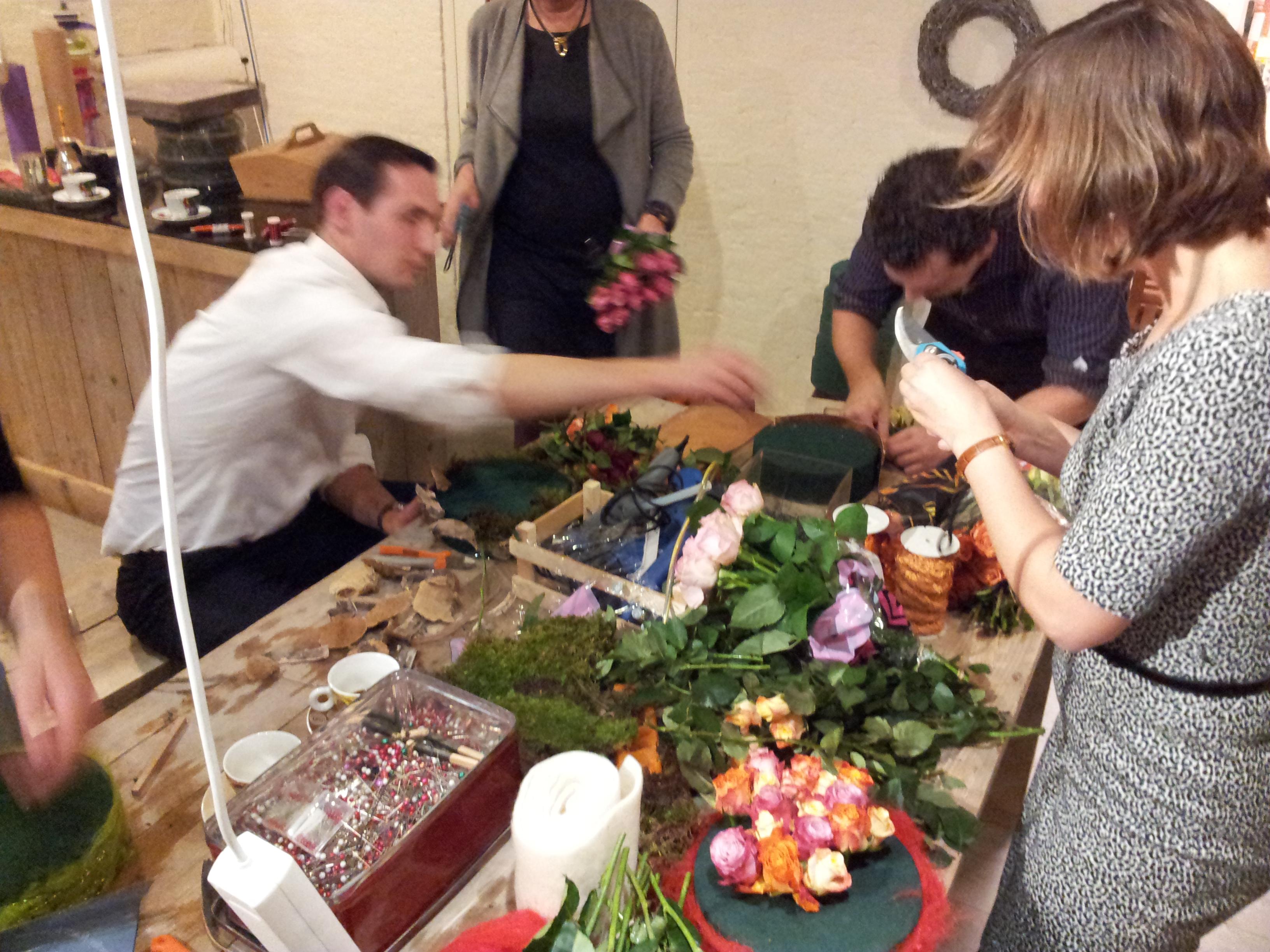 Kennisvijver bloemschikken (foto)